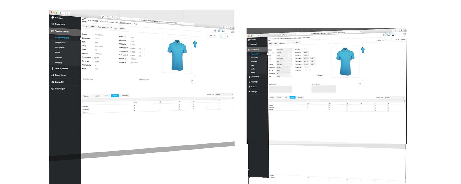 StoreContrl Cloud Winkelautomatisering Producten overzicht