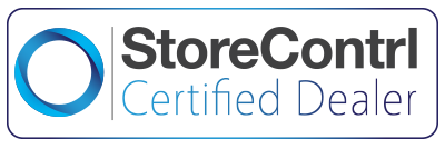 Logo van StoreContrl Winkelautomatisering voor de retail certified dealer