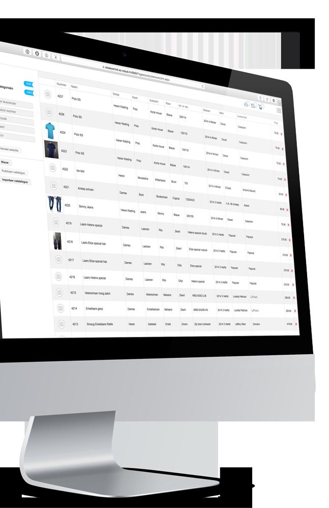 StoreContrl Cloud Voorraadbeheer online webbased winkelautomatisering