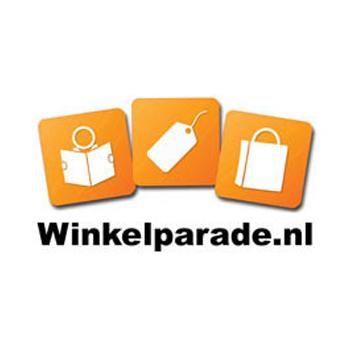 Dit is het logo van Winkelparade, een online partner van StoreContrl
