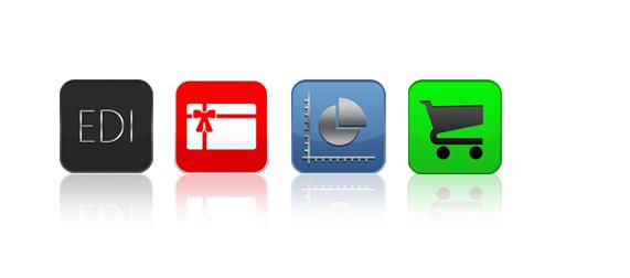 StoreContrl Koppeling met iconen